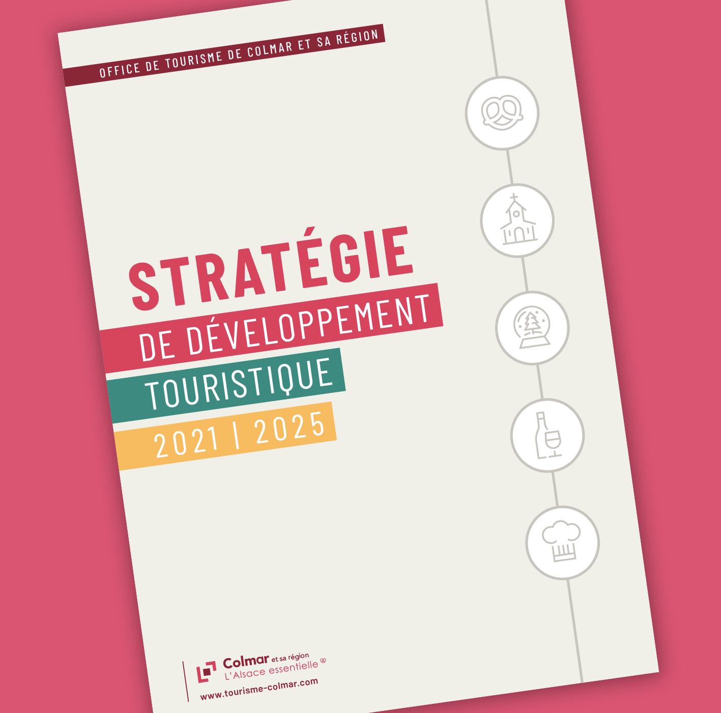 Brochure Stratégie touristique Colmar